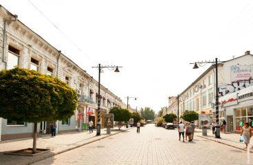 Веб-камера Симферополь, ул. Екатерининская (ул. Карла Маркса)