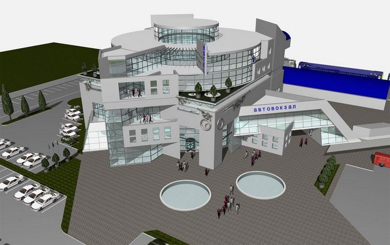 Новый автовокзал в Симферополе