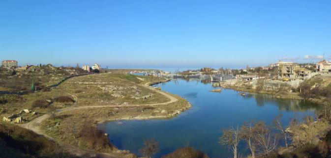 Веб-камера в Карантинной бухте, Севастополь