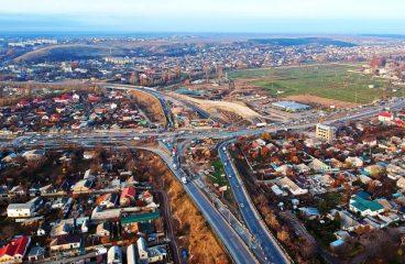 Строительство объездной дороги в Симферополе. Евпаторийское шоссе.