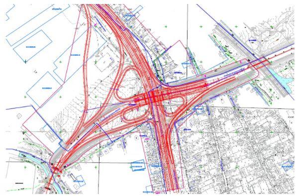 Схемы развязки на Евпаторийском шоссе